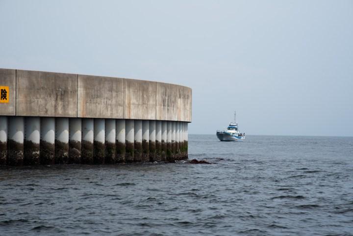 第二海堡岸壁