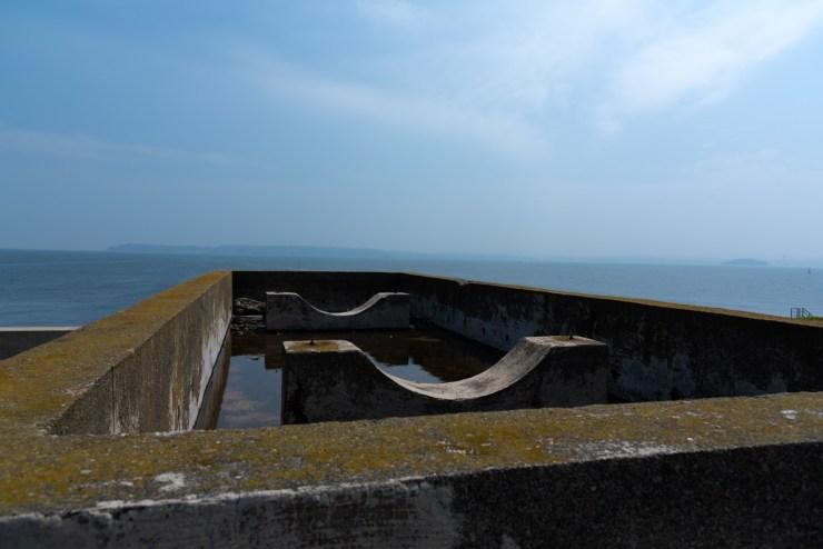 第二海堡砲台跡