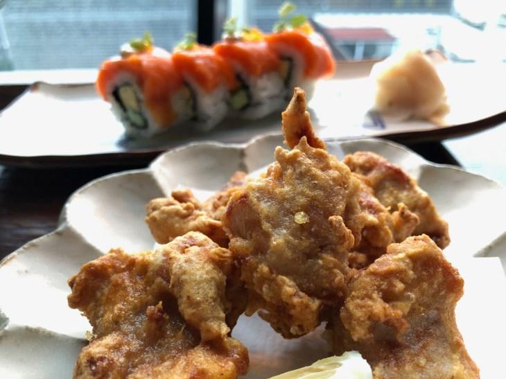 つるとんたん UDON NOODLE Brasserie 東急プラザ銀座店竜田揚げ