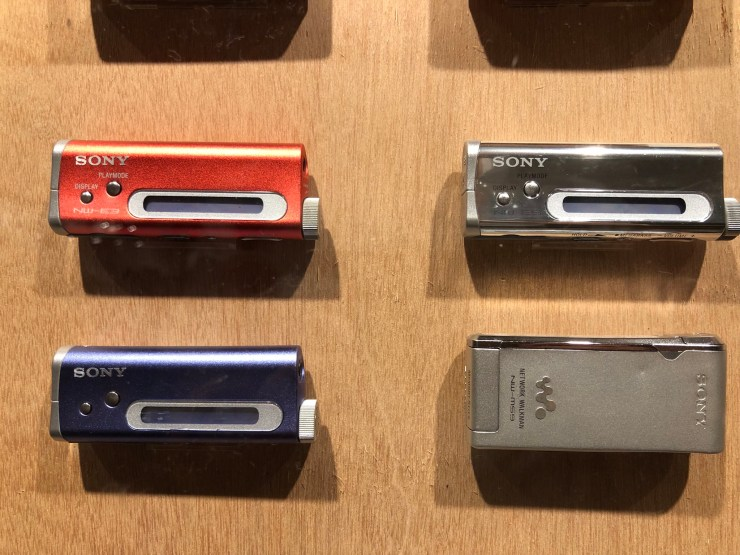 WALKMAN IN THE PARK (Ginza Sony Park) NW-E3