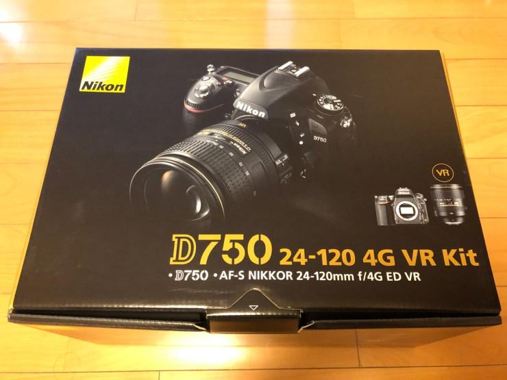 Nikon D750 24-120 4G VR Kit