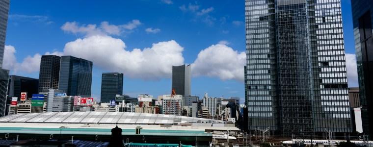 東京駅と新幹線