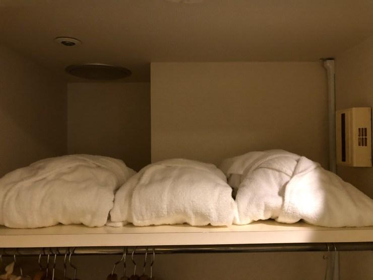 第一ホテル東京シーフォートのバスローブ