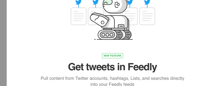 Feedly Twitter