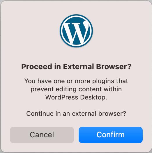 WordPressアプリメッセージ