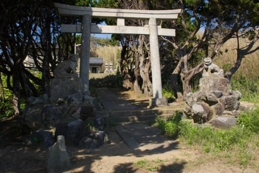 大杉神社入り口