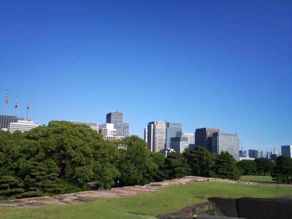 View from Tokyo Imperial Palace