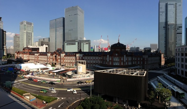 東京駅パノラマ写真