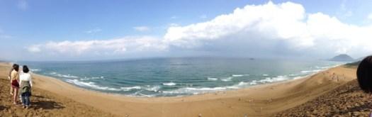 鳥取砂丘海側