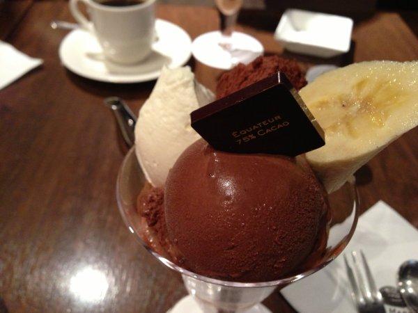 マルコリーニチョコレートパフェ
