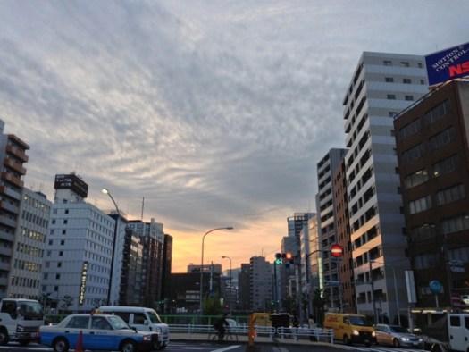 新富町駅付近