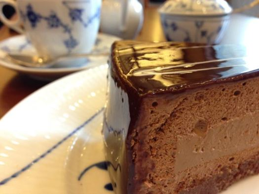 椿屋珈琲店のケーキ