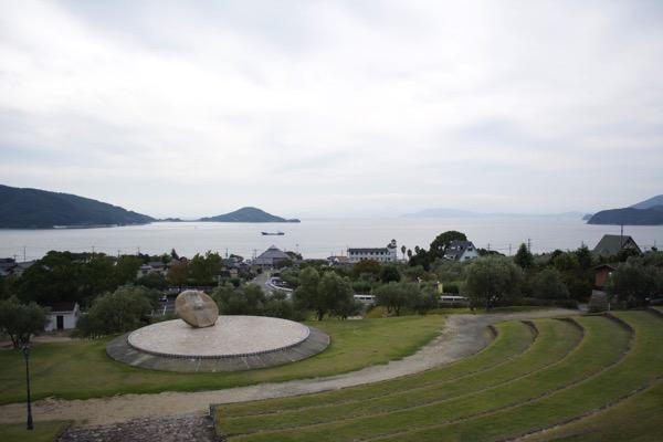 オリーブ記念館からの眺め