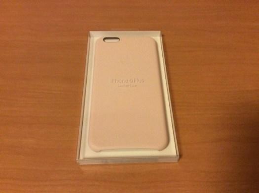 iPhone 6 Plus純正レザーケース