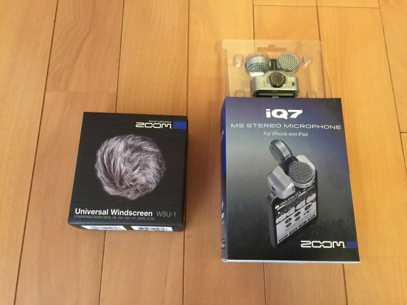 iQ7とWSU-1