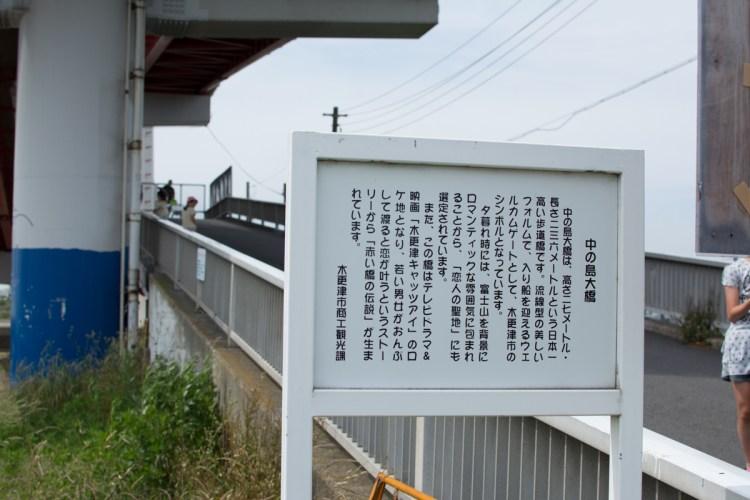 中の島大橋看板