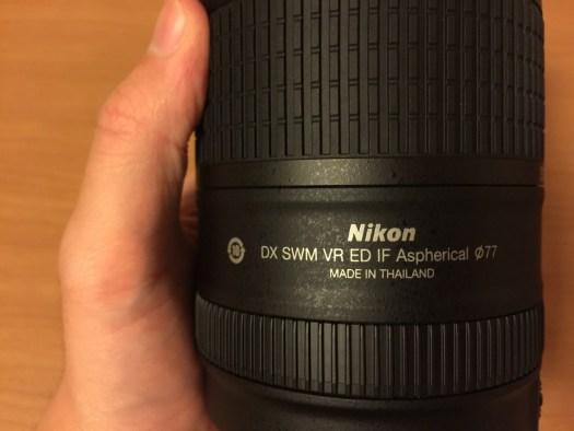 AF-S DX NIKKOR 18-300mm f/3.5-5.6G ED VR