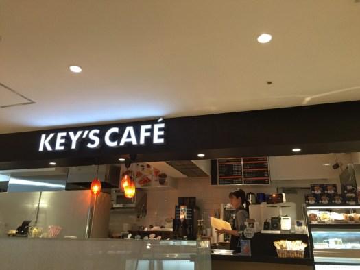 KEY'S CAFE店内