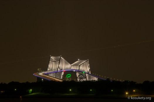 葛西臨海公園から東京ゲートブリッジを撮影