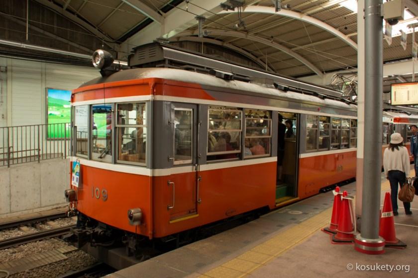 箱根登山鉄道車両