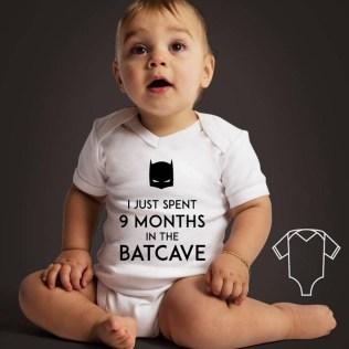 koszulka body dla dziecka z batmanem