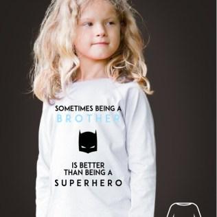 koszulka z nadrukiem batmana dla dziecka