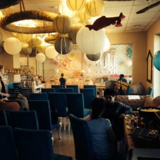 Bajkowy sufit w Family Cafe w Poznaniu