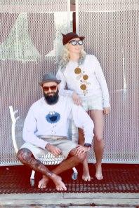 bluzy z nadrukiem dla par