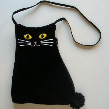 сумка-чёрный-котик