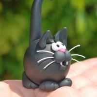 Идеи для котиков из глины
