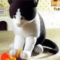 Чёрно-белая кошка от Алана Дарта