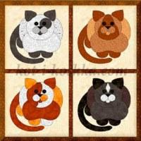 Аппликация Толстый кот