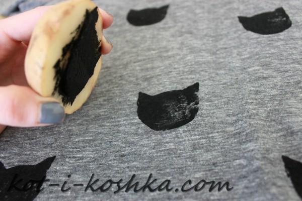 штамп кот (4)