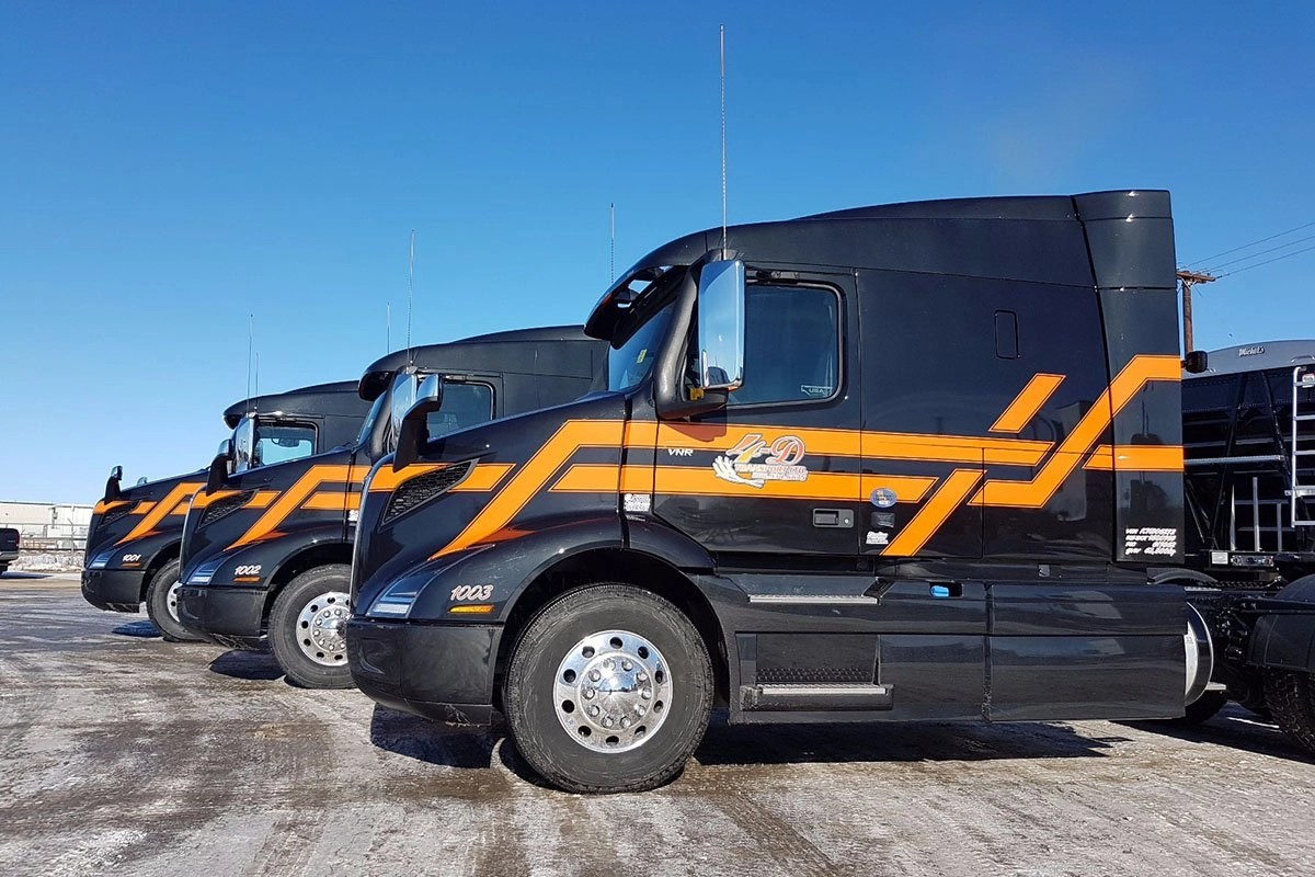 Oversized Vehicle Wraps and Decals