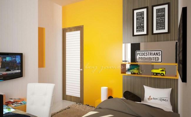 Kamar Tidur Remaja Kotak Interior Furniture