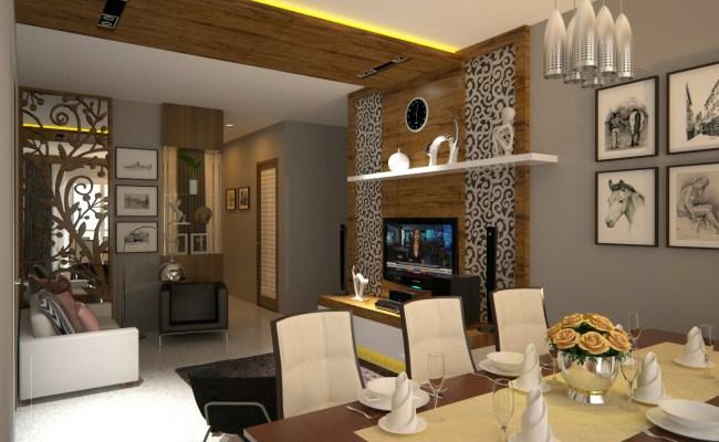 Ruang Tamu Ruang Keluarga Dan Ruang Makan Kotak