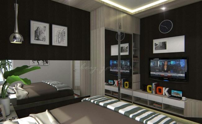 Master Bedroom Mr Arief Lippo Cikarang Kotak Interior