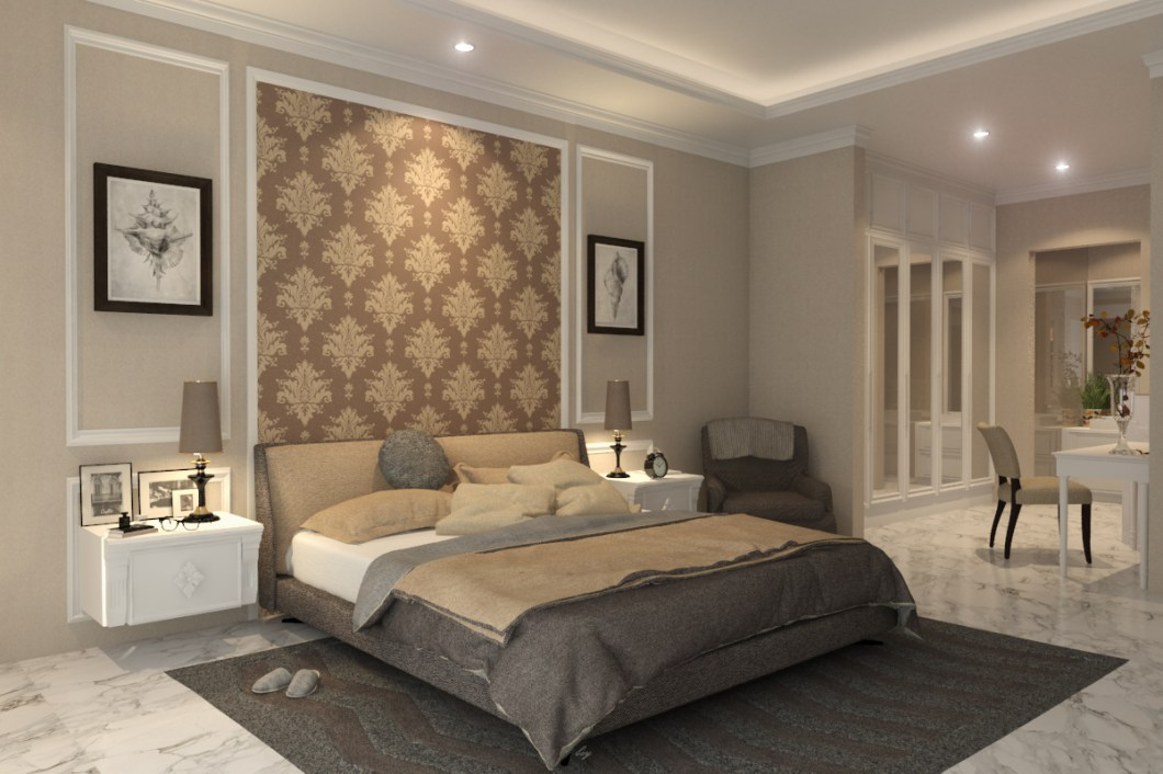 Master Bedroom Kotak Interior Furniture
