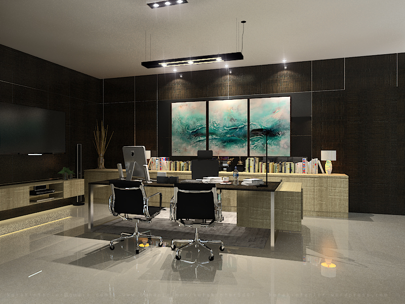 Office At T Plaza Jakarta Kotak Interior Furniture