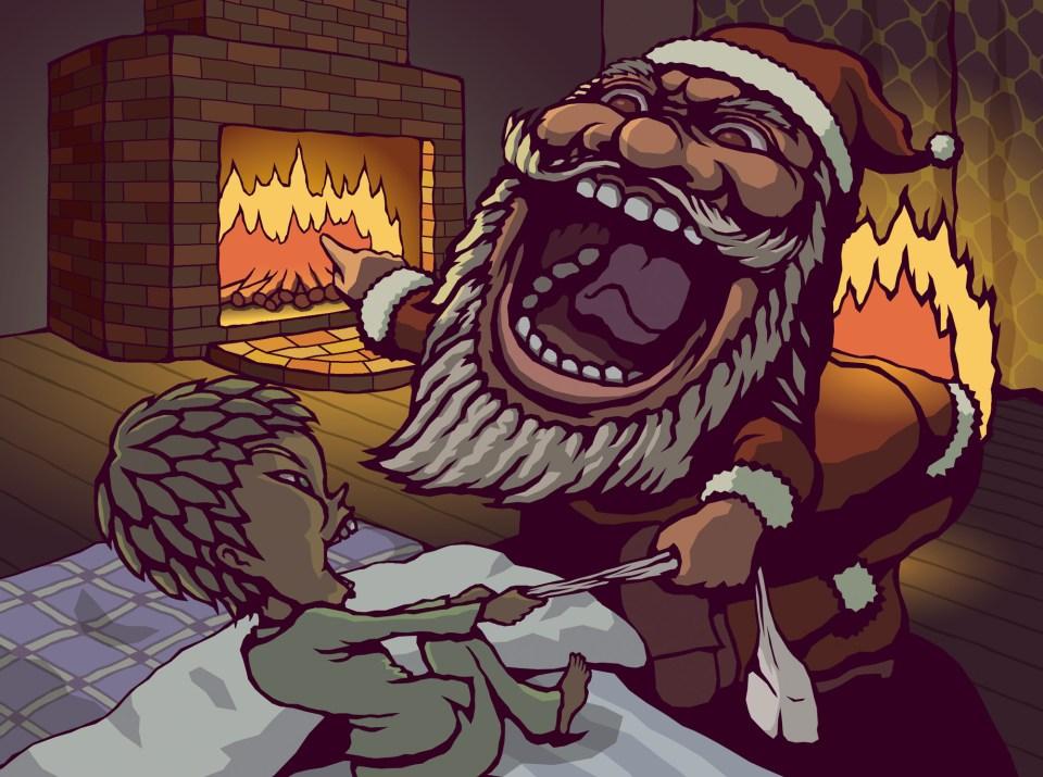 サンタと悪ガキ