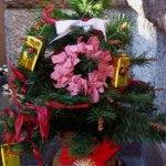 いらない、クリスマス飾りは、玄関先に飾ると。皆に喜ばれます。