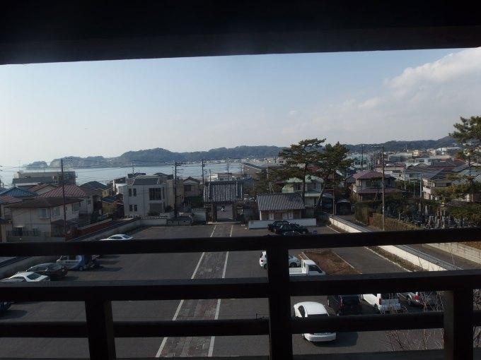 光明寺 山門からの眺め