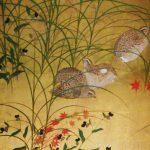 ここは鳥の楽園でしょうか?。江戸絵画への視線展 山種美術館