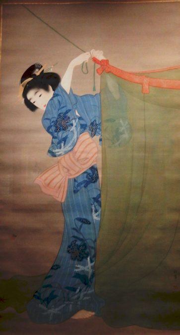 上村松園「蛍」山種美術館所蔵
