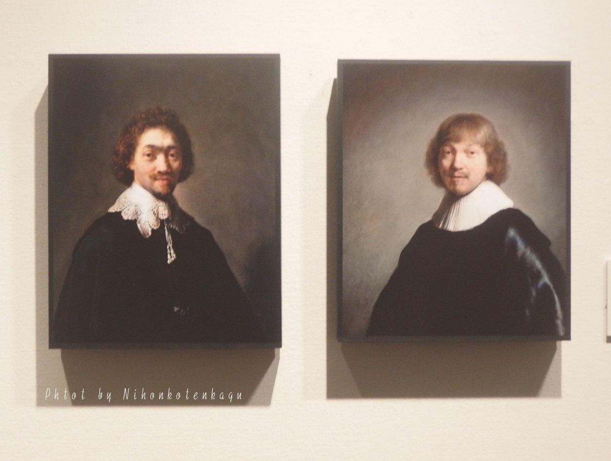 レンブラント リ・クリエイト マウリッツ・フイエンスの肖像 ヤコブ・ド・ヘインの肖像