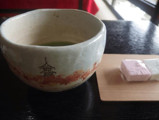 三渓園 三渓記念館 望塔亭の抹茶