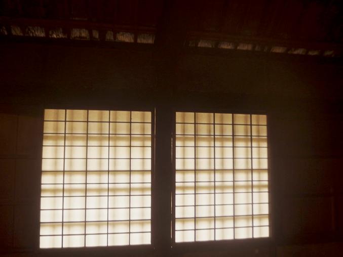 旧石井家住宅 土間と広間