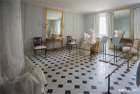 ヴェルサイユ宮殿 王妃の翌室