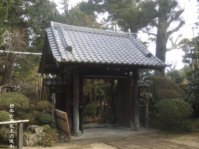 寿福寺 山門