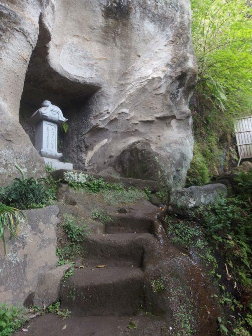 浄光明寺 石段